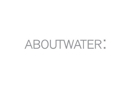 ABOUTWATER Logo Outline Frame